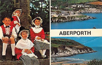 Postcard - Aberporth - 3 views