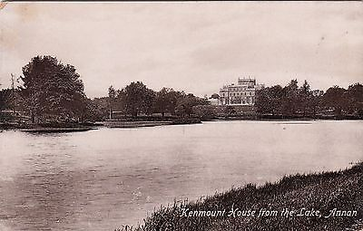 Postcard - Annan - Kenmount House from the Lake