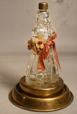 Babs Creations Figural Girl Perfume Bottle
