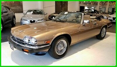 1990 Jaguar Other XJS One Owner, 38k Original Miles, V12, Garage Queen, Convertible