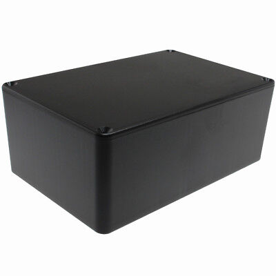 PI Manufacturing ABS Plastic Project Box 5.89 x 3.89 x 2.36 inch - Black
