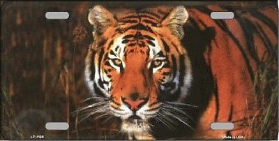 Tiger Airbrushed Decorative Sign Tag