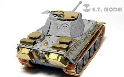 ET Models 1/72 WWII German Panther G Anti-Aircraft Armour set for Dragon kit
