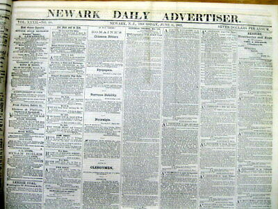 <14 1863 newspapers CONFEDERATE ARMY marching to BATTLE of GETTYSBURG thru MD