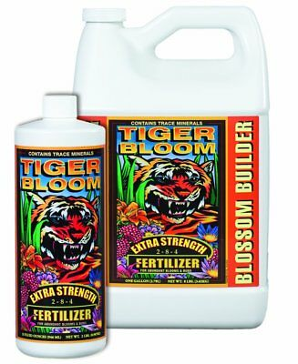 FoxFarm Tiger Bloom 1 Quart qt 32oz - liquid foxfarm hydroponics nutrients