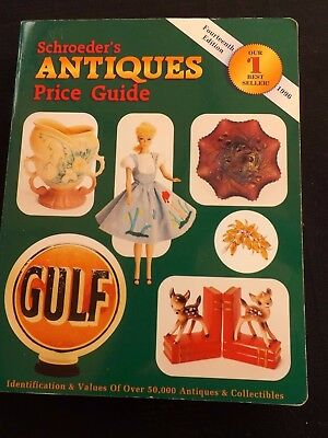 Schroeder`s Antiques Price Guide 14Th Edition  Cc 1996