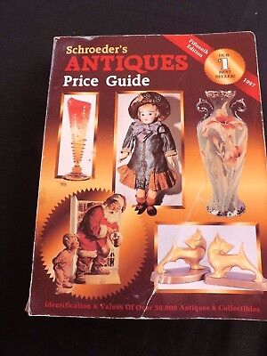 Schroeder`s Antiques Price Guide 15Th Edition Cc 1997