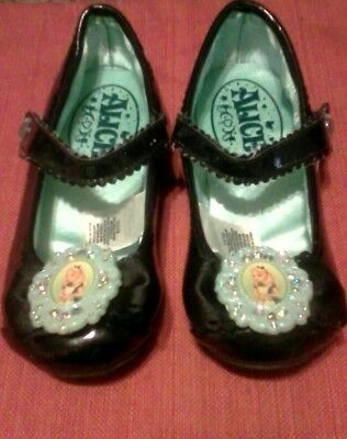 Disney Store Alice in Wonderland Girls  Dress Up/Costume Shoes size 11/12