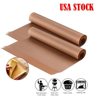 "7PCS 16""x24"" Teflon Sheet for Heat Press Resistant Non Stick Oil-proof Craft"
