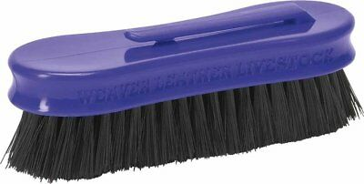 Weaver Leather Small Pig Face Brush, Purple