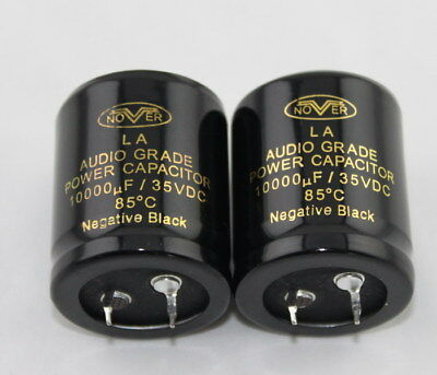 NOVER Audio Crade Power Capacitor DIY HIFI CAP 10000UF 63V/ 50V/ 35V/ 6800UF 35V