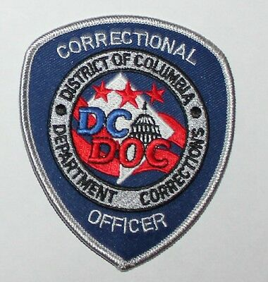 DC DOC DISTRICT OF COLUMBIA DEPT OF CORRECTIONS Washington Correctional Officer