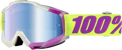 100% Accuri Snow Goggles Mirror Black Tootaloo 50210-172-02