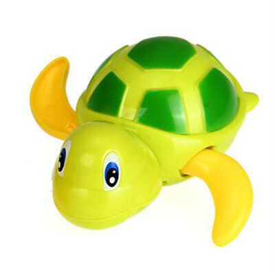 PF Spring Plastic Turtle Toy Shower Bathroom for Baby Child