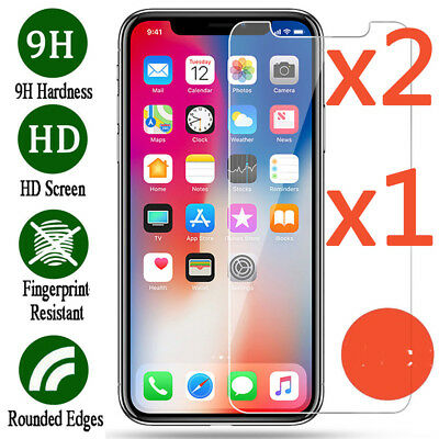 iPhone 8 Plus/8, 7 Plus/7 Screen Protector Tempered Glass