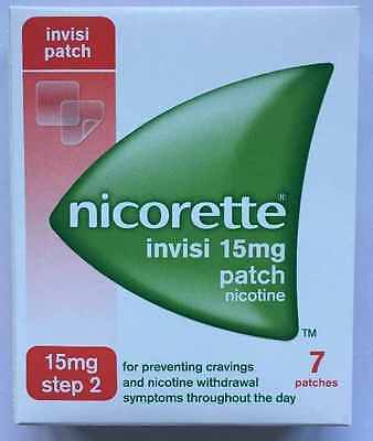 Nicorette 15Mg Invisi Patches (Stop Smoking)Cheapest On Ebay  Exp Date 2019
