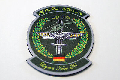 Bo 105 patch Fly Out Celle 2016