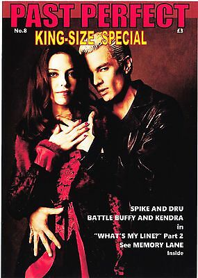 Past Perfect King-Size #8 Buffy Star Trek Tng Doctor Who Marvel Power Tv21