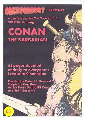 Past Perfect Special Conan The Barbarian Barry Smith Roy Thomas Marvel Howard