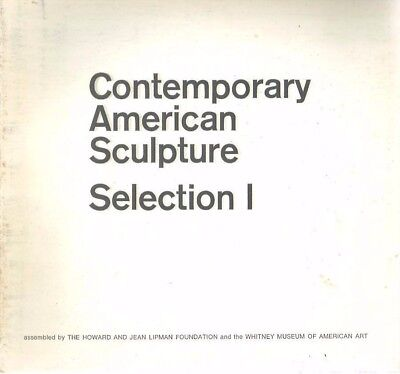 mm - Vintage 1969 Contemporary American Sculpture Exhibition Catalog WHITNEY MUS