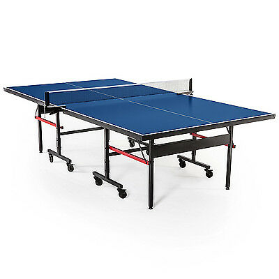 Ittf Approved Pro Size 16Mm Table Tennis/ping Pong Table Free Accessories