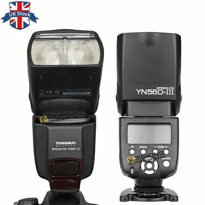 YONGNUO YN-560 III Wireless Speedlite Flash for Canon Nikon Pentax Olympus UK