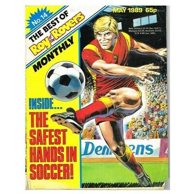 Roy of the Rovers Comic The Best of No.14 May 1989 MBox2797 The best of May 1989