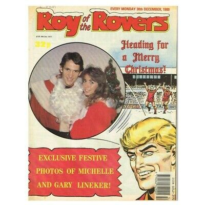 Roy of the Rovers Comic December 30 1989 MBox2797 Exclusive festive photos of Mi