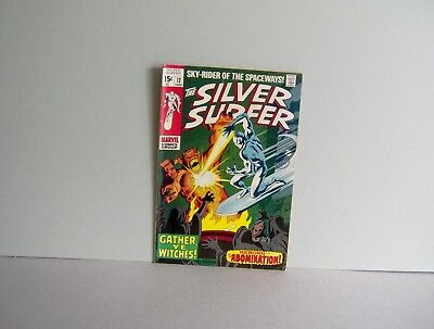 SILVER SURFER #12 1969 The ABOMINATION