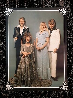 ABBA - 'The Best Of ABBA' Australia Poster. 56cm x 42cm.