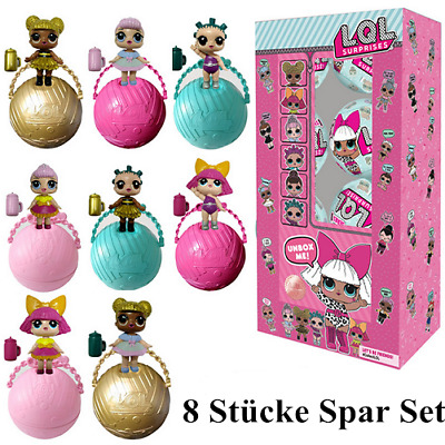 8Pcs LOL Surprise Dolls Lets Be Friends Series 1 Balls. Neu In Box! Spielzeug DE