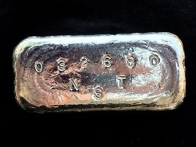 3.668 oz NST Northern Sierra Trust .999 Fine Silver Bullion Ingot Bar