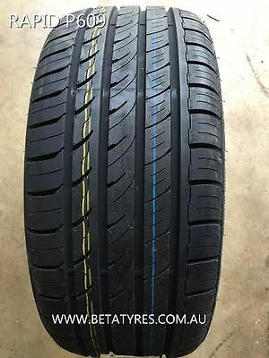 1 X 235/45R17 Rapid P609 Tyre,  Asymmetric Tyre, Low Profile! Free Delivery