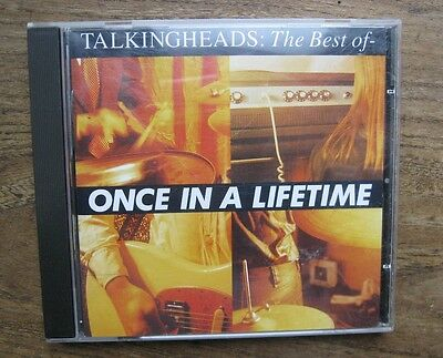 TALKING HEADS - Best of (Once in a Lifetime, 1992) - Excellent used CD