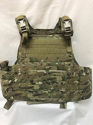 Eagle Industries Plate Carrier L/XL MOLLE Multicam LE Duty w/Armor