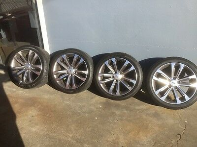 """Genuine Ford FGX XR6,XR8 18"""" set of 4 Wheels with tyres"""