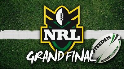 2017 NRL Grand Final tickets x4 (approx on the 50m line)
