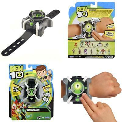 Ben 10 Basic Omnitrix Role Play Watch 40+ Alien Phrases SFX Sounds Kids Gift Toy