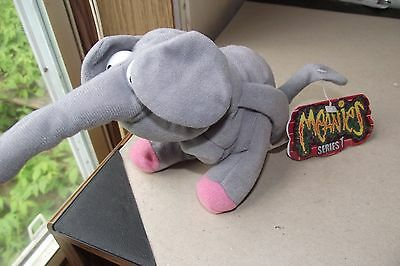Meanies Series 1 Bart The Elephart Elephant Plush New Collectible Funny Toy Anim