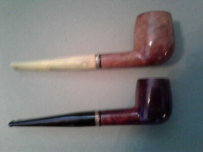 Lot of 2 Vintage Royal Duke Of Dundee Imported Briar Tobacco Estate Pipes