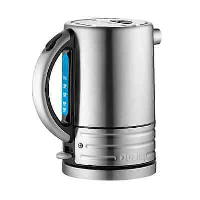 Dualit Architect Black And Brushed Stainless Steel Kettle
