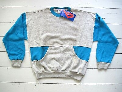 NOS 80er PONY BROOKLYN NYC Sweater Pulli Breakdance Vintage M 80 110 City Wings