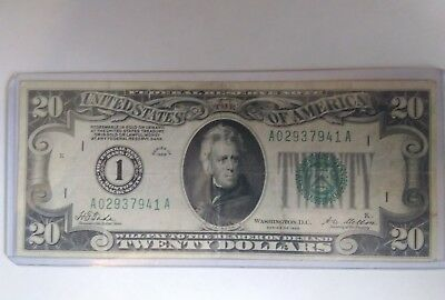 Bank of Boston $20. dollar Gold Note