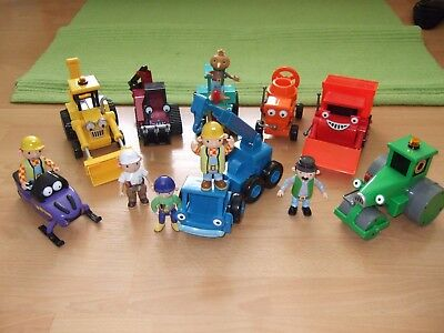 Job Lot Of Bob The Builder Vehicles plus Figures