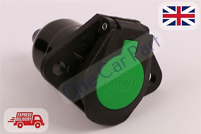 Truck Trailer Towing Socket  N TYPE 7 pin Green High Quality