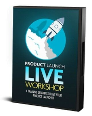 Product Launch Live Workshop Videos, Audios Ebook on 1 cd/CPA/ Resell Rights