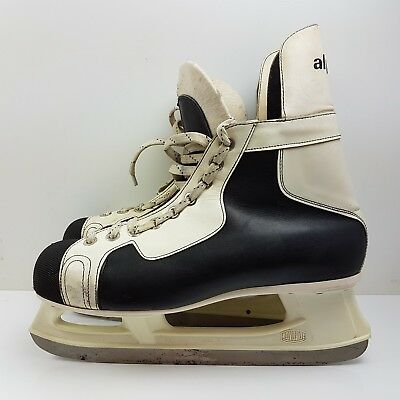 Vintage Kovopol Tornado Leather ice skates EUR 45  UK SIZE 10 (m5)
