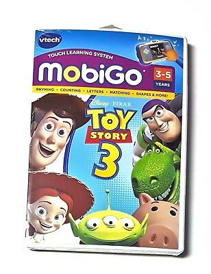 VTech MobiGo Software Disney Pixar Toy Story 3 Touch Learning System Game Play