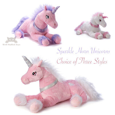 50Cm Unicorn Plush Soft Cuddly Animal Toy Bear Gift Kids Stuffed Large New