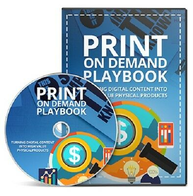 Print On Demand Playbook - Create Physical Books from Digital Content Easily cd